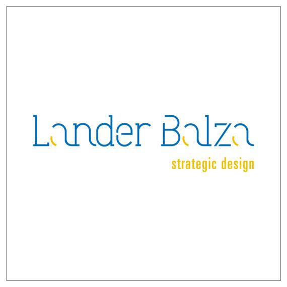 Logotipo Lander Balza pequeño